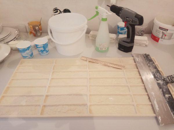 Инструменты для изготовления декоративного камня