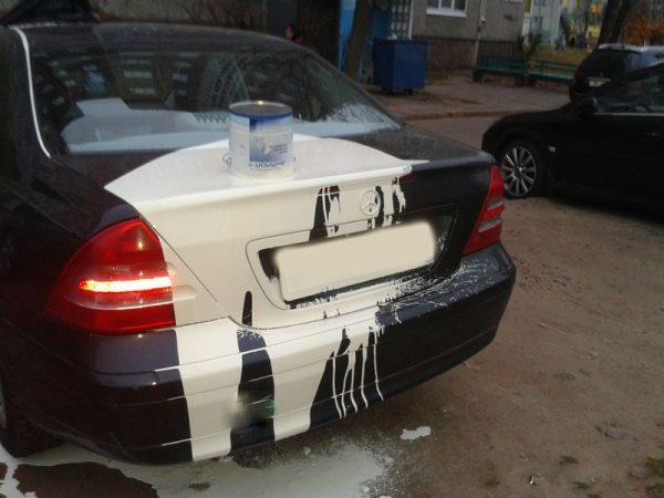 Краска на автомобиле