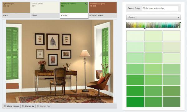 Приложения для выбора цвета