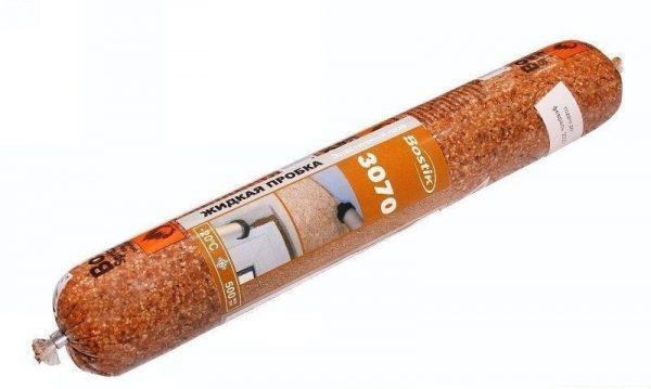 В качестве связующего компонента в жидкой пробке используется полиакрилатный клей