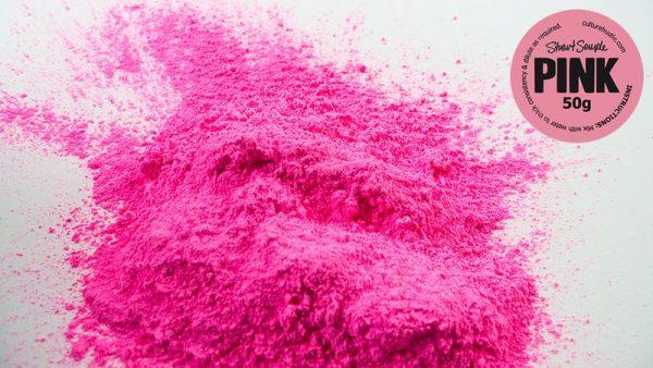Красящее вещество Pinkest Pink разработанное Стюарт Сэмплом