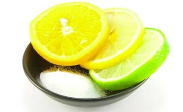 Соль и сок лайма