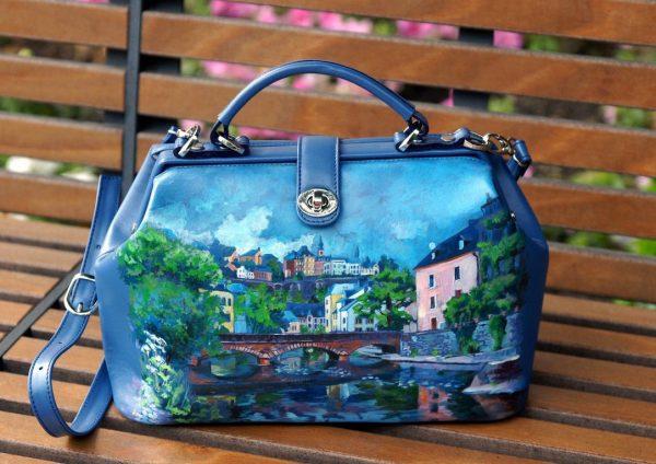 Раскрашенная сумка