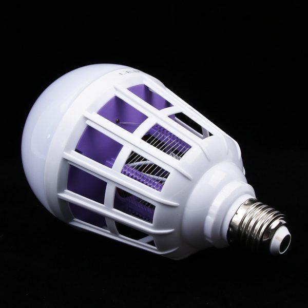 Светодиодная лампа-ловушка для комаров