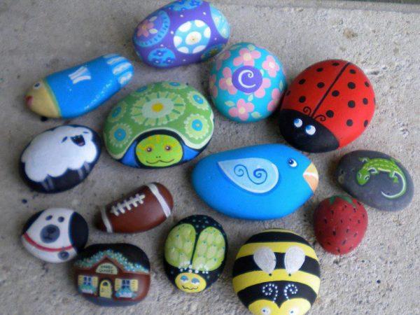 Виды рисунков на камнях