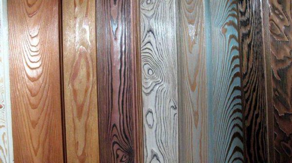 Технология браширования на разных видах древесины