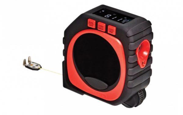 Цифровая рулетка с лазерным уровнем
