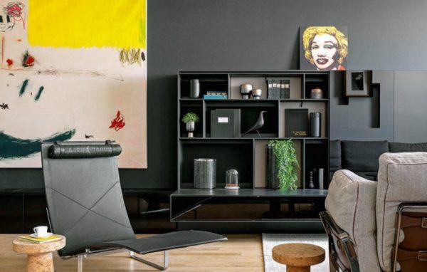 Дизайнерское оформление гостиной