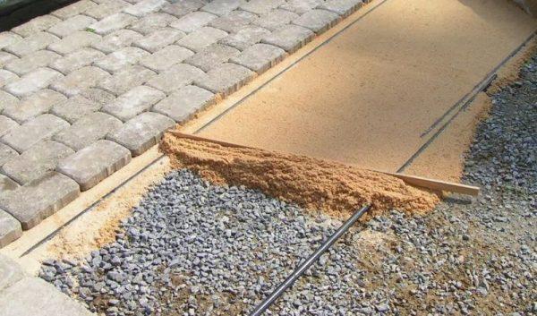 Садовая дорожка из дренажного бетона