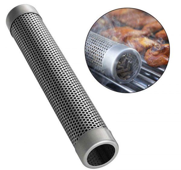 Дымообразовательная трубка из нержавеющей стали для барбекю