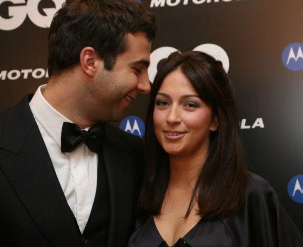 Иван Ургант с нынешней супругой Натальей Кикнадзе