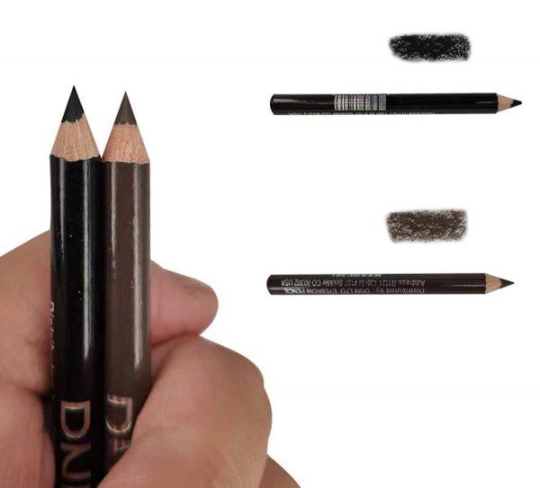 Использование карандашей для бровей для закраски царапин