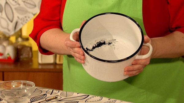Посуда с поврежденной эмалью