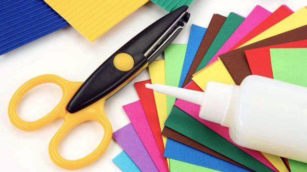 Клей и бумага