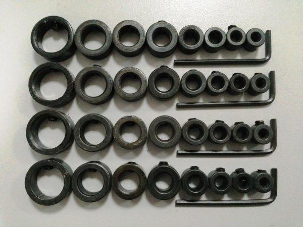 Набор стопорных колец для деревообрабатывающего инструмента