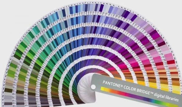 Цветовая палитра Pantone