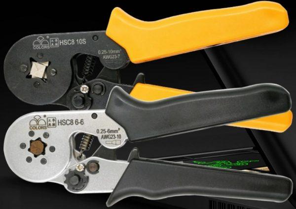Обжимной инструмент для опрессовки проводов