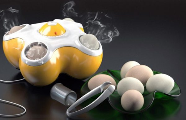 Оригинальный электроприбор для приготовления яиц
