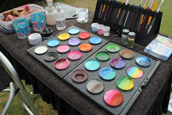 Подготовка аквакрасок к нанесению
