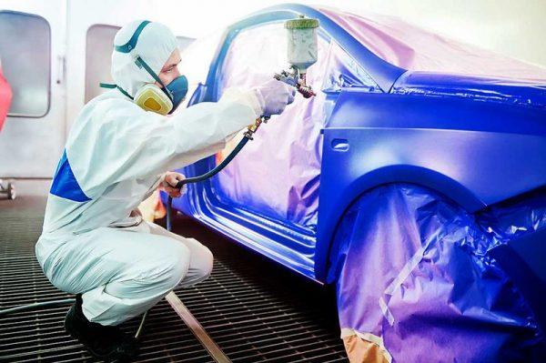 Технология нанесения краски хамелеон на автомобиль