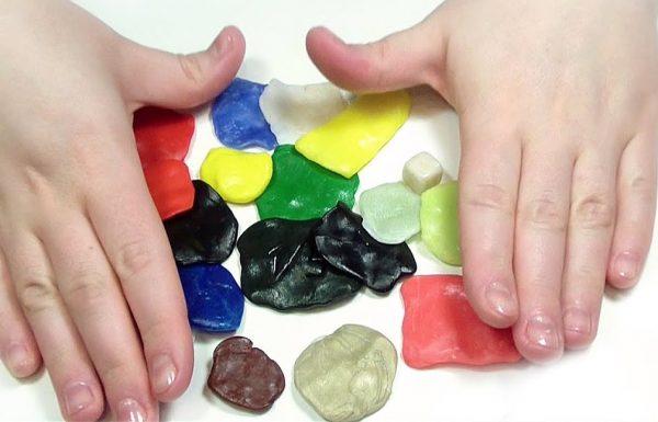 Полиморфный пластик для изготовления поделок можно использовать повторно