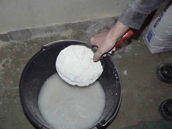 Приготовление из грунтовки