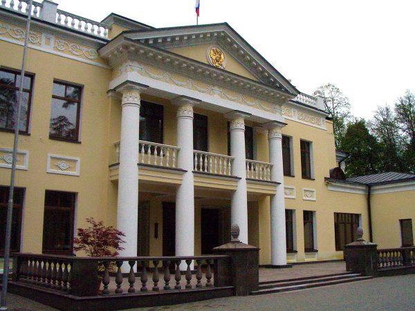 Резиденция Путина в Ново-Огарево