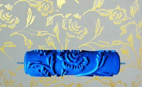 Резиновый ролик для настенной декоративной росписи
