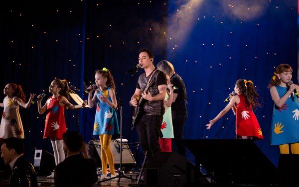 Сольный концерт Родиона Газманова в Государственном Кремлевском Дворце
