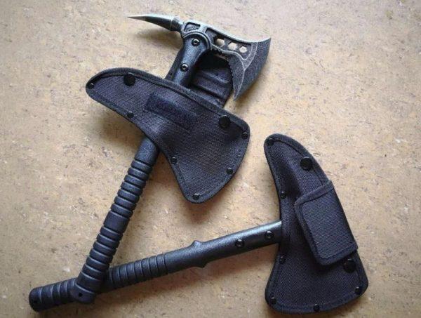 Томагавк черного цвета из высококачественной нержавейки