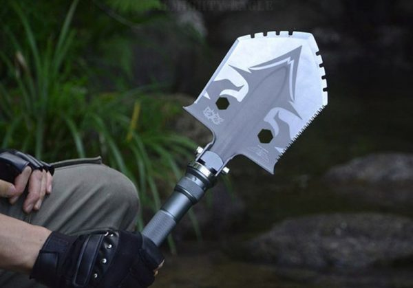 Профессиональная складная лопата