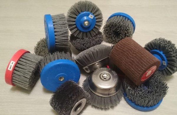 Абразивные насадки для браширования различной формы