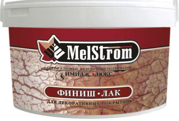 Акриловый финиш лак MelStrom для декоративных покрытий