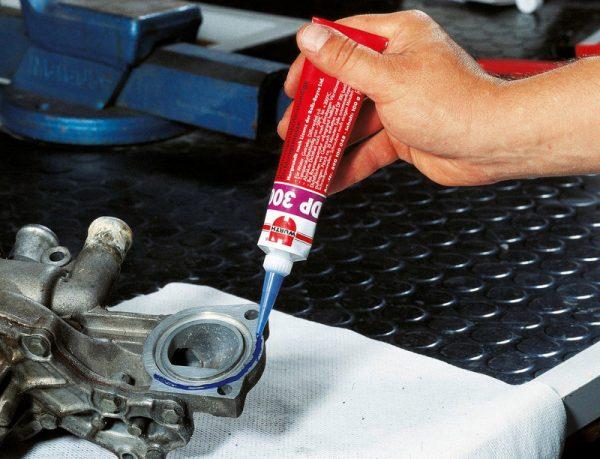 Анаэробные герметики легко наносятся и быстро застывают