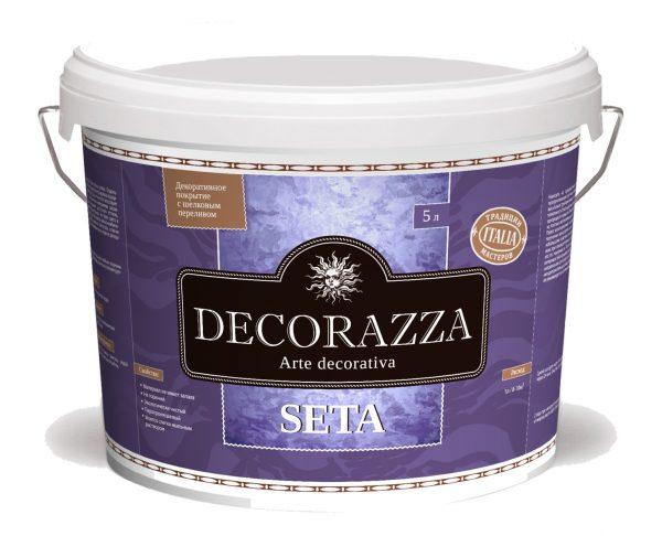 Decorazza Seta декоративная штукатурка с эффектом натурального шёлка
