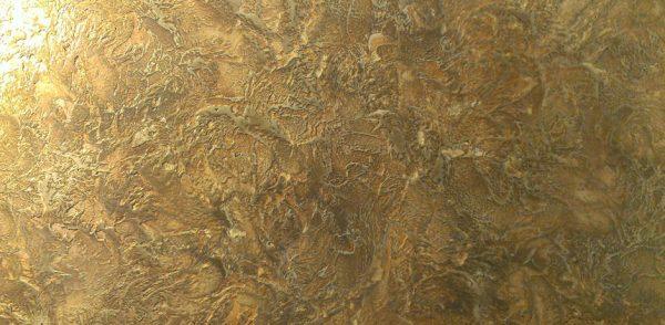 Декоративное покрытие стены в стиле Марсельский воск