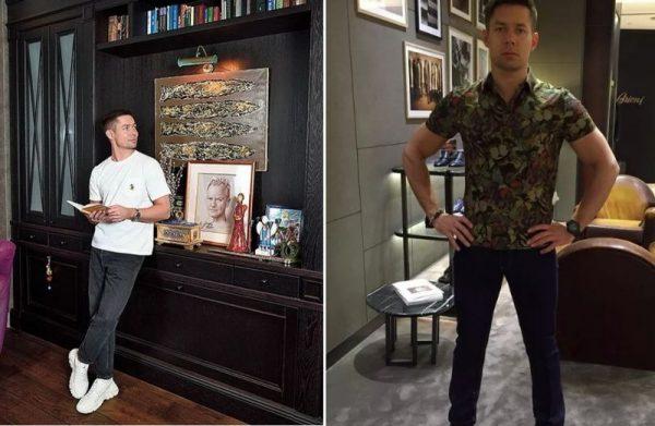 Стас Пьеха в своей квартире в Москве