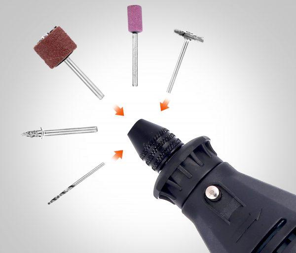Электрический дремлер с универсальным патроном GOXAWEE
