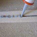 Герметизация швов в бетонной стяжке