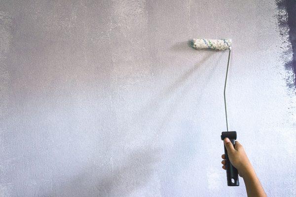 Грунтование стен под жидкие обои