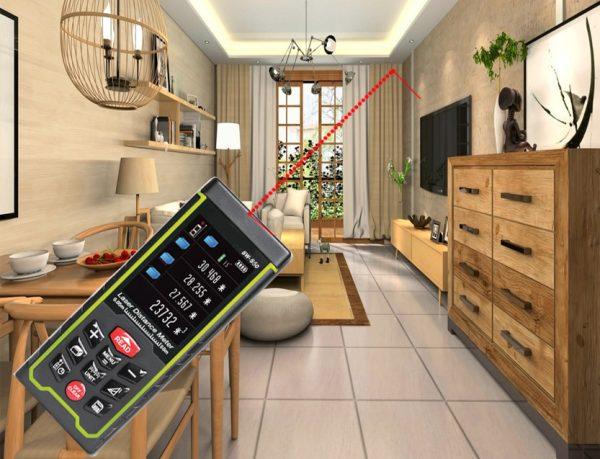 Лазерный прибор для измерения расстояния WAYSEAR SW-S120