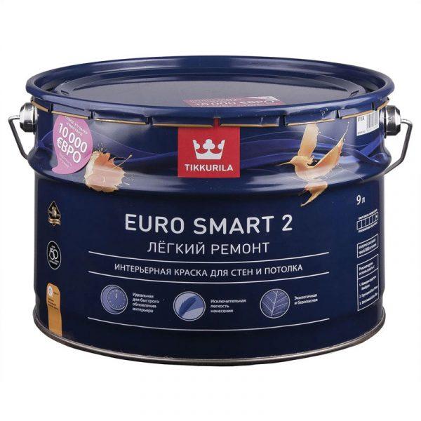 Интерьерная краска Euro Smart 2