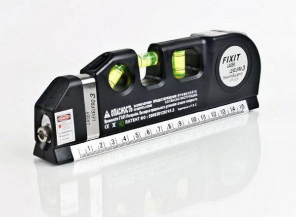 Многоцелевой лазерный уровень BINOAX со встроенной рулеткой