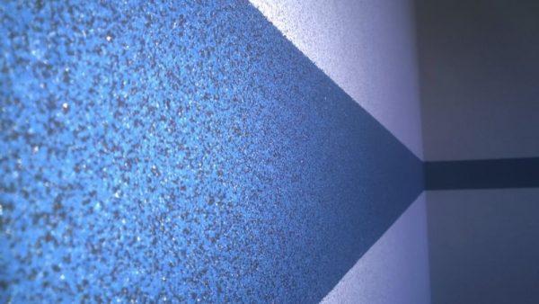 Декорирование стен мозаичной штукатуркой