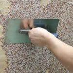 Технология нанесения мраморной штукатурки - ручной способ