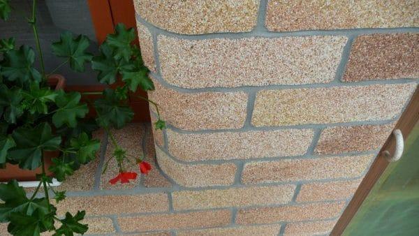 Камешковая штукатурка фасад