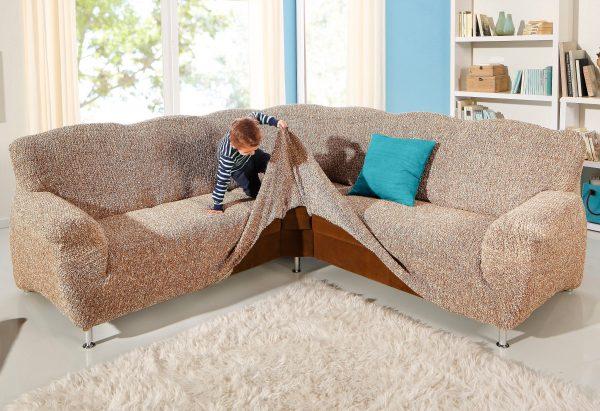 На потертую и выцветшую мебель лучше надеть чехлы