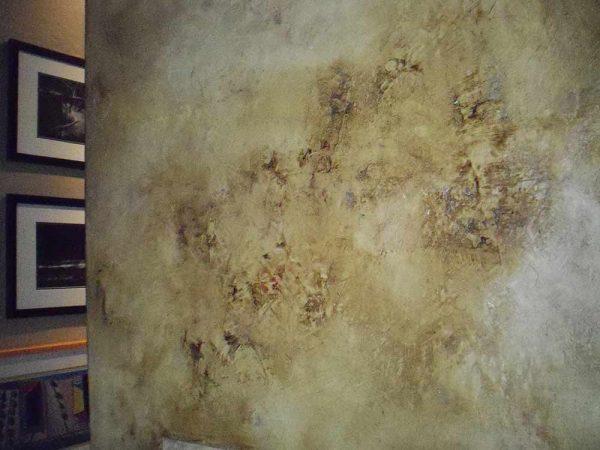 Оригинальное покрытие стен с эффектом старения
