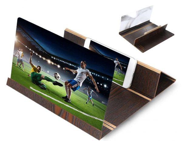 Подставка-увеличитель для экрана смартфона