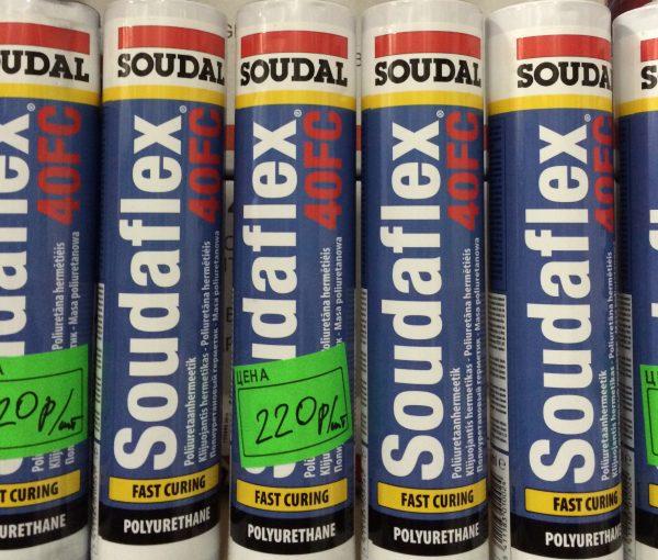 Полиуретановый клей-герметик Soudaflex 40 FC
